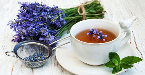 دمنوش چای اسطوخدوس
